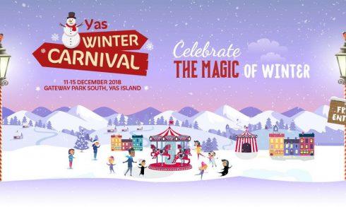 Yas Winter Carnival 2018 - Coming Soon in UAE, comingsoon.ae
