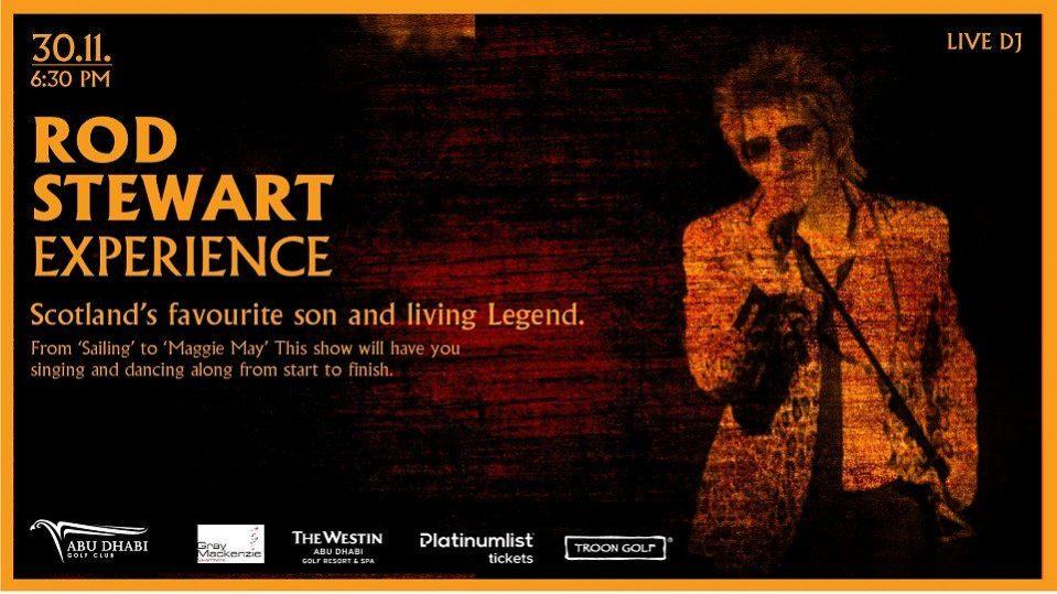Rod Stewart Tribute – Paul Hobbs - Coming Soon in UAE, comingsoon.ae