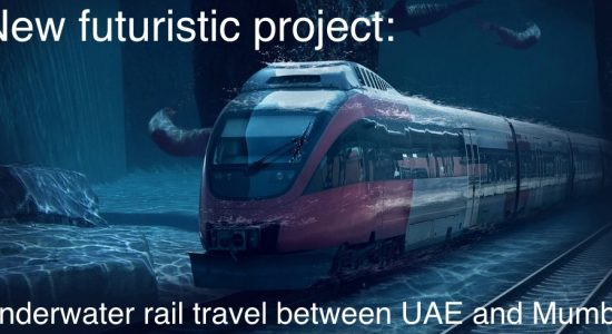 Underwater railway will connect the UAE and India - comingsoon.ae