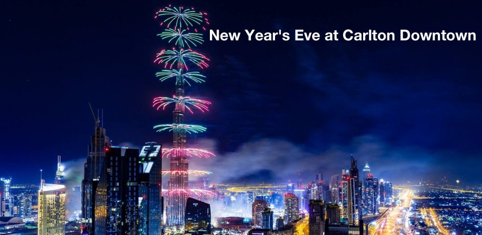 New Year's Eve at Carlton Downtown - Coming Soon in UAE, comingsoon.ae