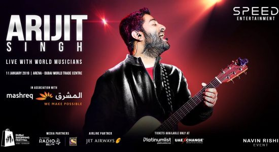 Arijit Singh – Live with World Musicians - comingsoon.ae