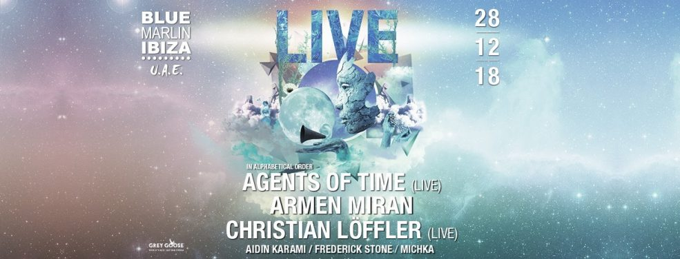 Blue Marlin Ibiza UAE presents Agents Of Time, Armen Miran & Christian Löffler - Coming Soon in UAE, comingsoon.ae