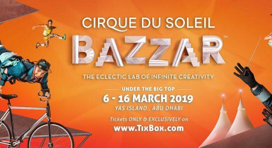 Cirque du Soleil BAZZAR at Yas Island - comingsoon.ae