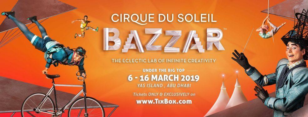 Cirque du Soleil BAZZAR at Yas Island - Coming Soon in UAE, comingsoon.ae