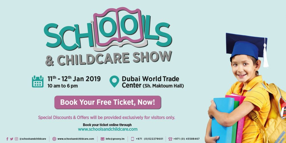 Dubai Schools and Childcare Show 2019 - Coming Soon in UAE, comingsoon.ae
