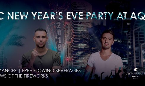 New Year's Eve Party At Aqua - Coming Soon in UAE, comingsoon.ae
