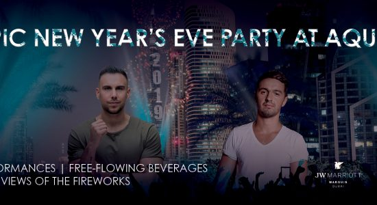 New Year's Eve Party At Aqua - comingsoon.ae