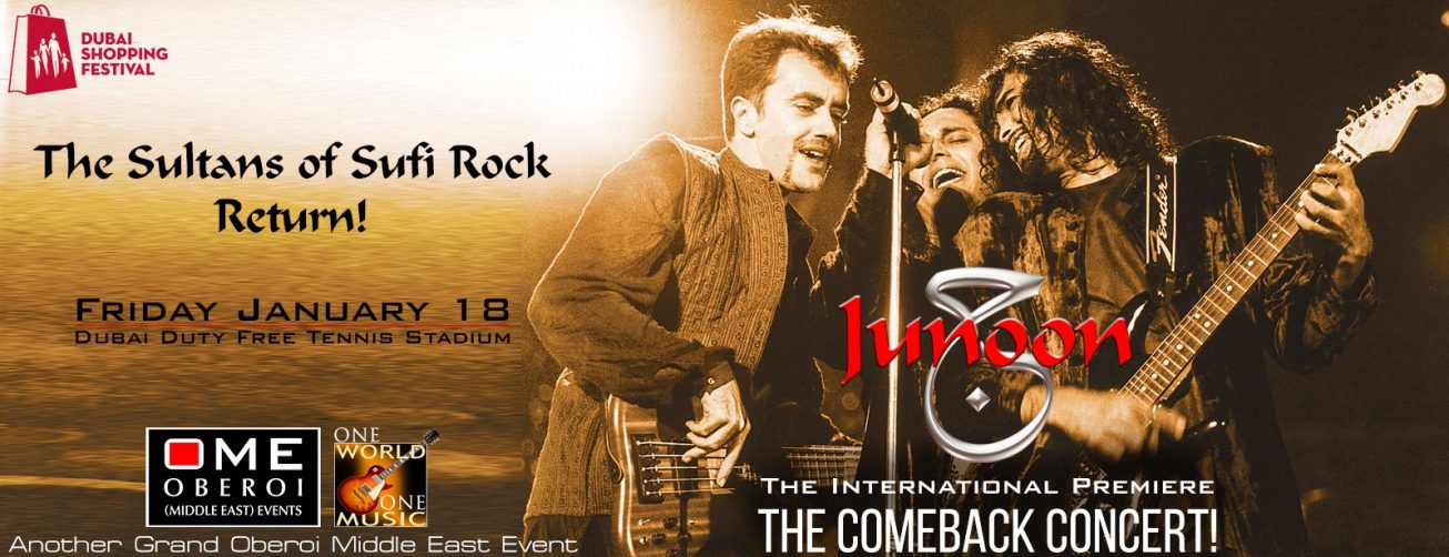 Junoon: The Comeback Concert - Coming Soon in UAE, comingsoon.ae