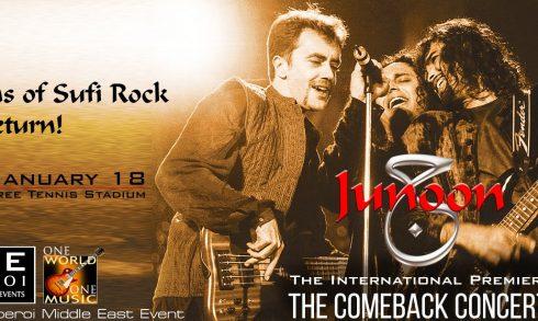 Junoon: The Comeback Concert - Coming Soon in UAE, comingsoon.ae