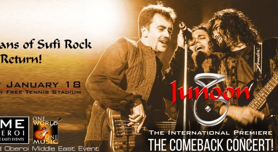 Junoon: The Comeback Concert - comingsoon.ae