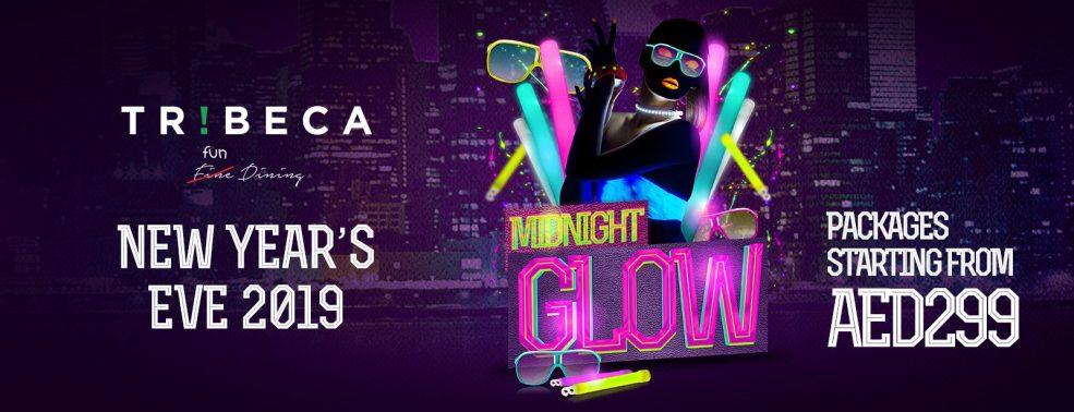 Midnight Glow – NYE 2019 at Tribeca JBR - Coming Soon in UAE, comingsoon.ae
