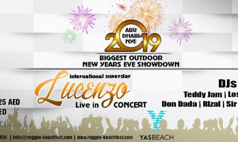 New Year's Eve with Lucenzo & Friends - Coming Soon in UAE, comingsoon.ae