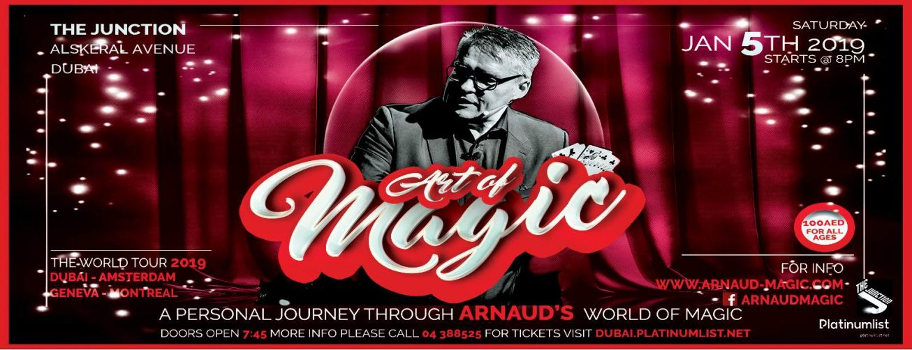 The Art Of Magic by Arnaud - Coming Soon in UAE, comingsoon.ae