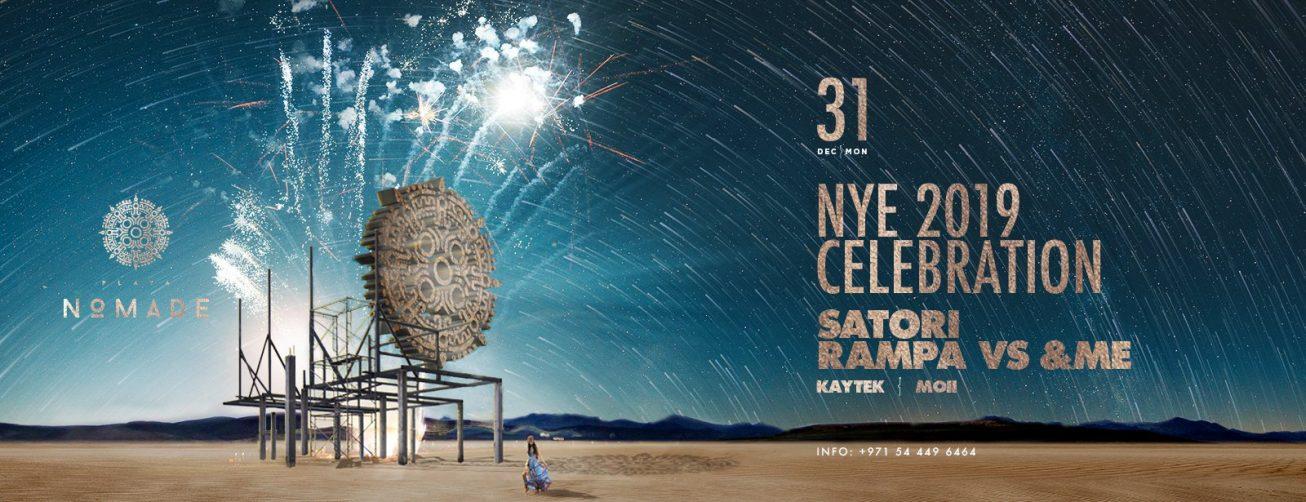 Nomade Official NYE 2019 - Coming Soon in UAE, comingsoon.ae