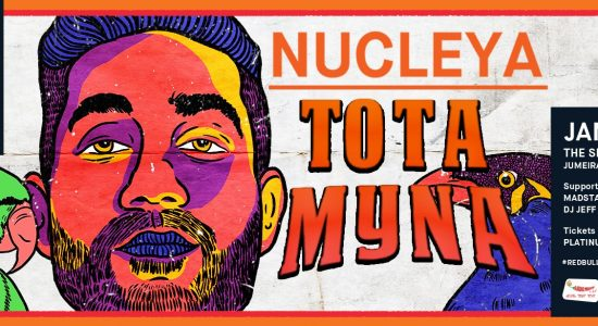 Red Bull Music presents Tota Myna album by Nucleya - comingsoon.ae