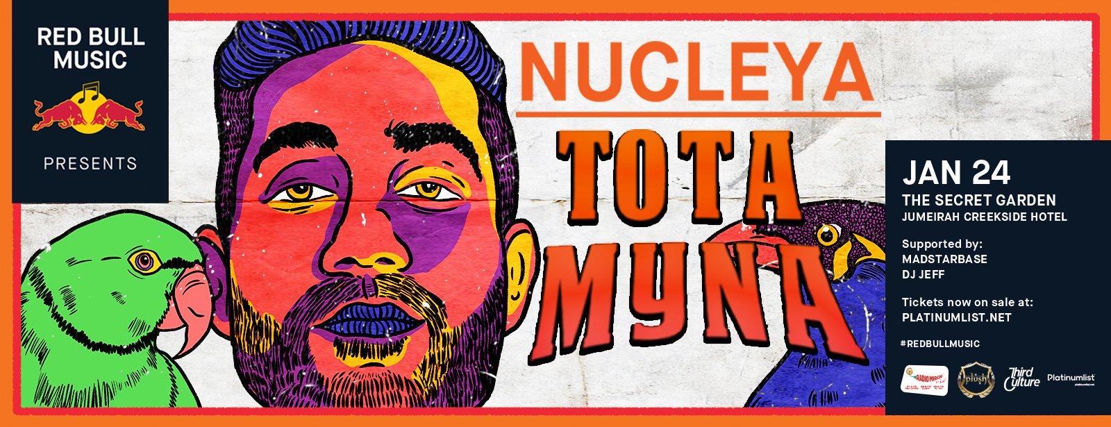 Red Bull Music presents Tota Myna album by Nucleya - Coming Soon in UAE