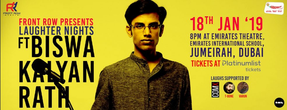 Laughter Nights ft Biswa Kalyan Rath - Coming Soon in UAE, comingsoon.ae