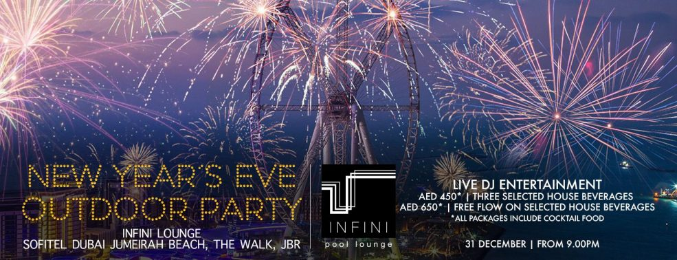 New Year's Eve Outdoor Party at Sofitel Dubai Jumeirah Beach - Coming Soon in UAE, comingsoon.ae