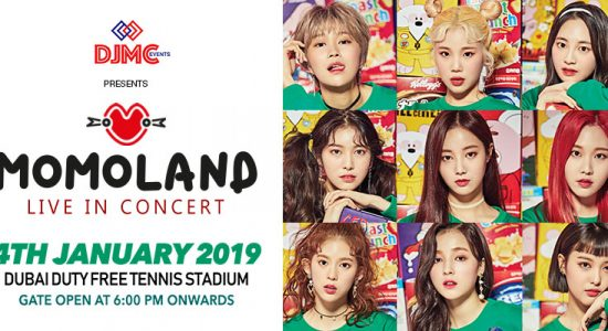 Momoland Live in concert - comingsoon.ae