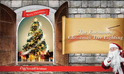 Enchanted Christmas Tree Lighting at the Novotel Dubai Al Barsha - Coming Soon in UAE, comingsoon.ae