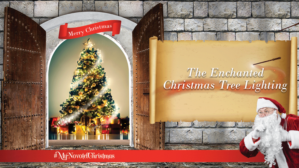 Enchanted Christmas Tree Lighting at the Novotel Dubai Al Barsha - Coming Soon in UAE, comingsoon.ae