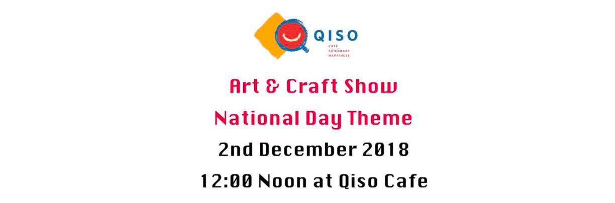 Art & Craft Show at the Qiso Cafe - Coming Soon in UAE, comingsoon.ae