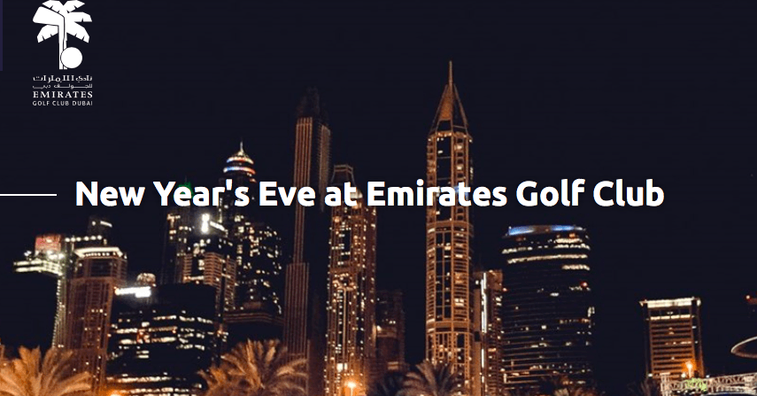 New Year's Eve at Emirates Golf Club - Coming Soon in UAE, comingsoon.ae