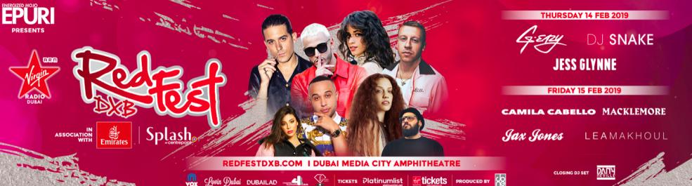 RedFest DXB 2019 - Coming Soon in UAE, comingsoon.ae