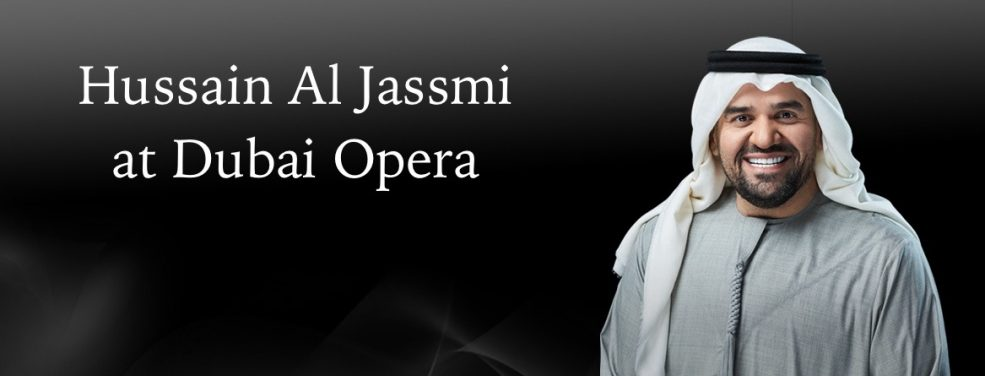 Hussain Al Jassmi at Dubai Opera - Coming Soon in UAE, comingsoon.ae
