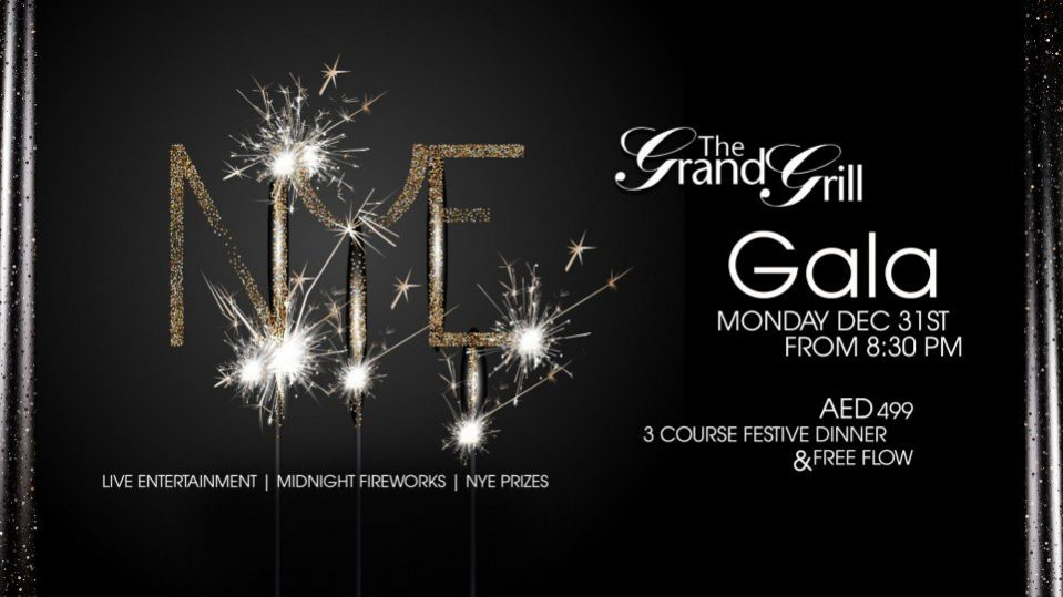 The Grand Grill Gala dinner - Coming Soon in UAE, comingsoon.ae