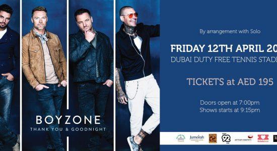 Boyzone – The Farewell Tour Live - comingsoon.ae