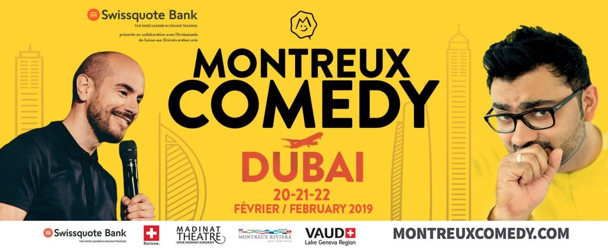 Montreux Comedy - Coming Soon in UAE, comingsoon.ae