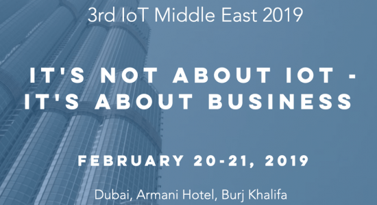 Internet of Things Conference 2019 - comingsoon.ae