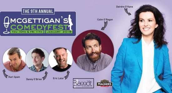 ComedyFest 2019 at McGettigan's - comingsoon.ae