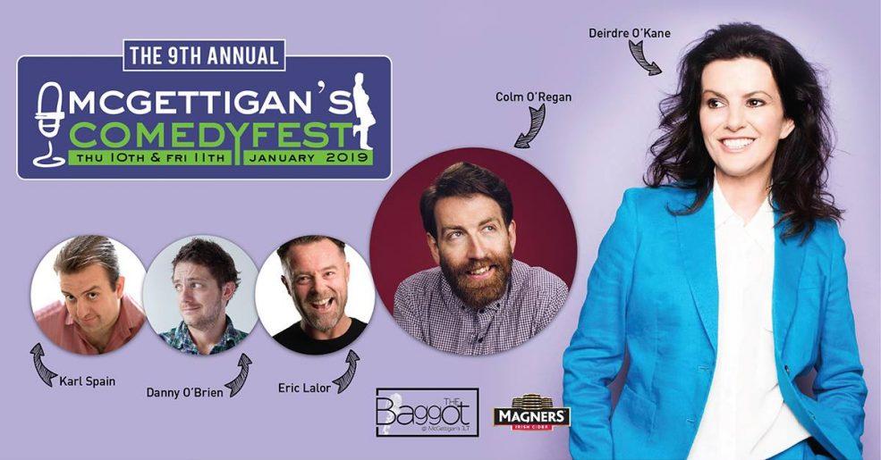 ComedyFest 2019 at McGettigan's - Coming Soon in UAE, comingsoon.ae