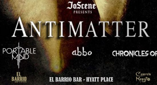 Antimatter Live concert - comingsoon.ae