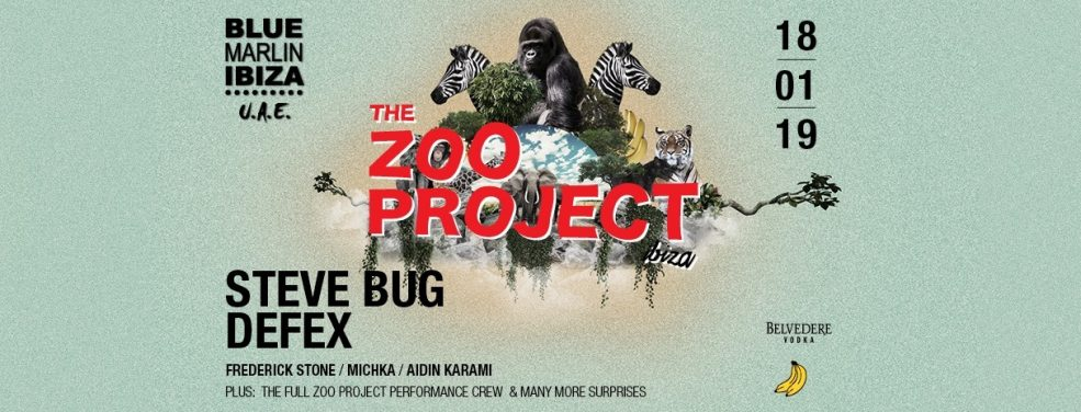 The Zoo Project at Blue Marlin Ibiza UAE - Coming Soon in UAE, comingsoon.ae