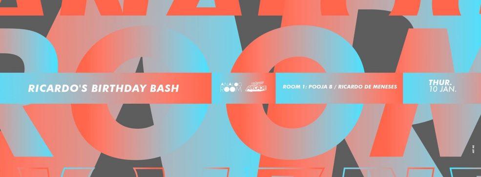 Analog Room: Ricardo's Bday Bash - Coming Soon in UAE, comingsoon.ae
