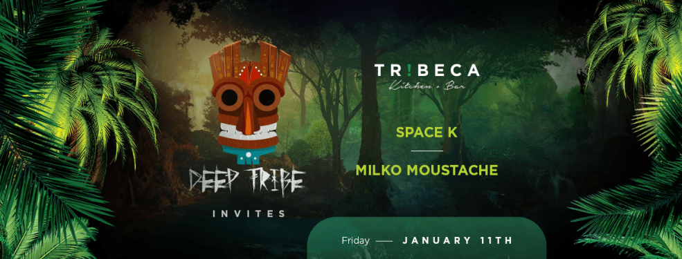 Deep Tribe presents Space K & Milko Moustache - Coming Soon in UAE, comingsoon.ae