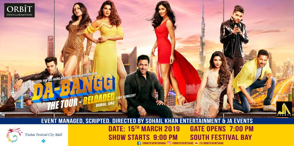 Dabangg – The Tour Reloaded Live Concert - Coming Soon in UAE, comingsoon.ae