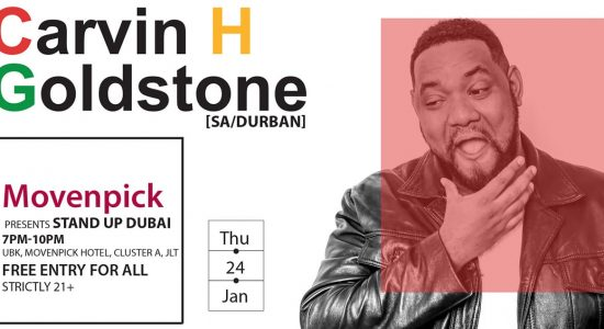 Stand Up Dubai: Carvin H Goldstone - comingsoon.ae
