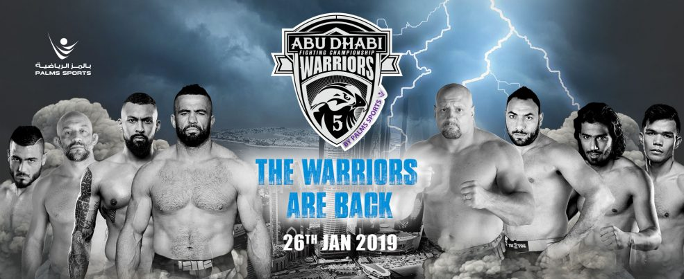 Abu Dhabi Warriors Fighting Championship 5 - Coming Soon in UAE, comingsoon.ae