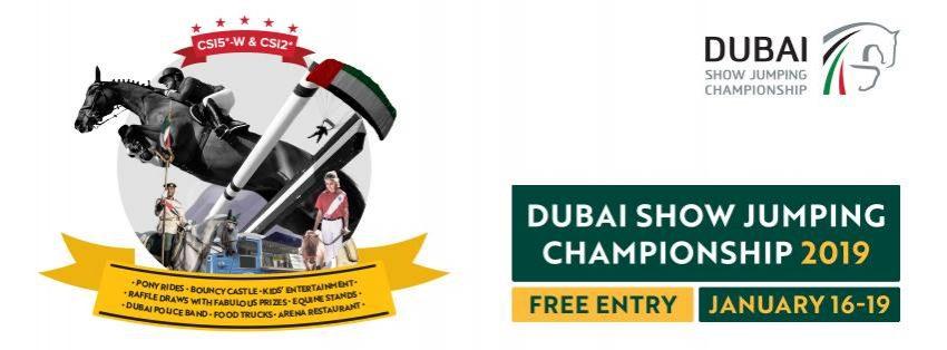 Dubai Show Jumping Championship 2019 - Coming Soon in UAE, comingsoon.ae