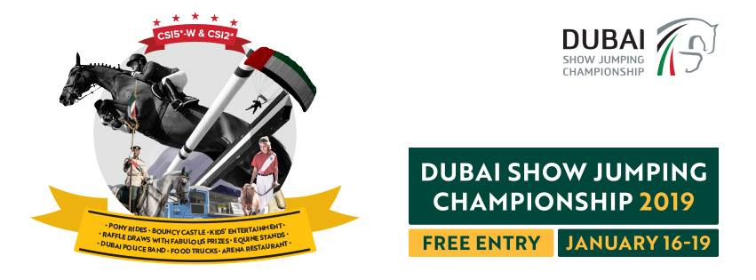 Dubai Show Jumping Championship 2019 - Coming Soon in UAE, comingsoon.ae