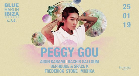 Peggy Gou at Blue Marlin Ibiza UAE - comingsoon.ae