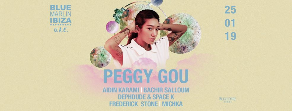 Peggy Gou at Blue Marlin Ibiza UAE - Coming Soon in UAE, comingsoon.ae