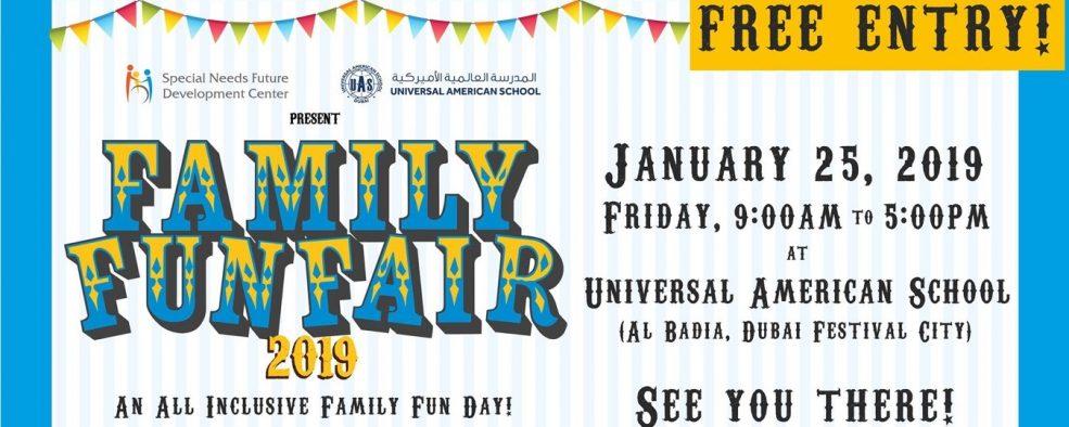 SNF Family Funfair 2019 - Coming Soon in UAE, comingsoon.ae