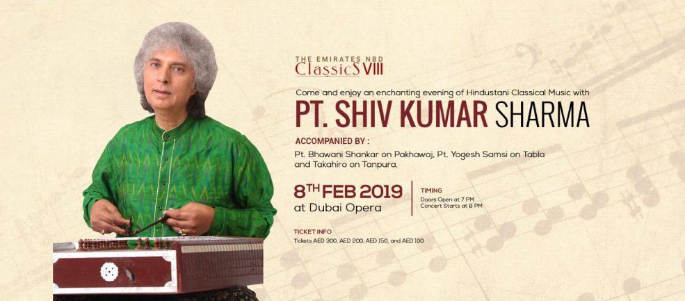 Pt. Shiv Kumar Sharma at Dubai Opera - Coming Soon in UAE, comingsoon.ae