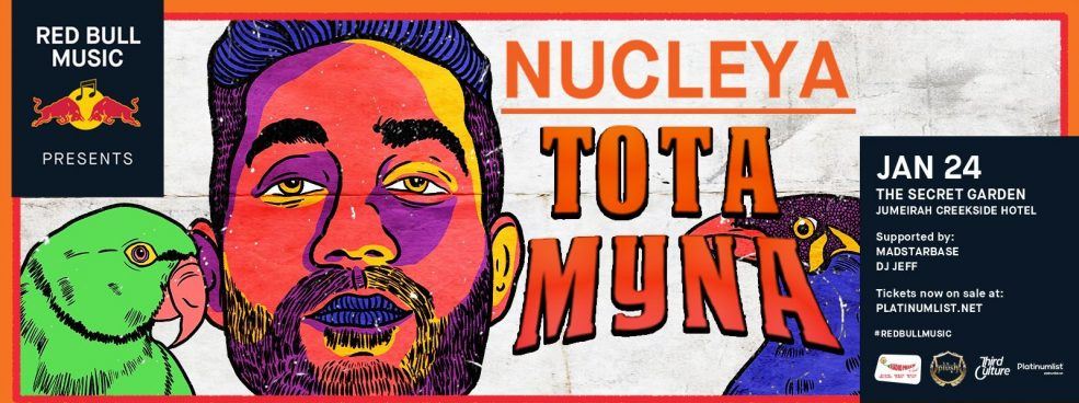 Red Bull Music presents Tota Myna album by Nucleya - Coming Soon in UAE, comingsoon.ae