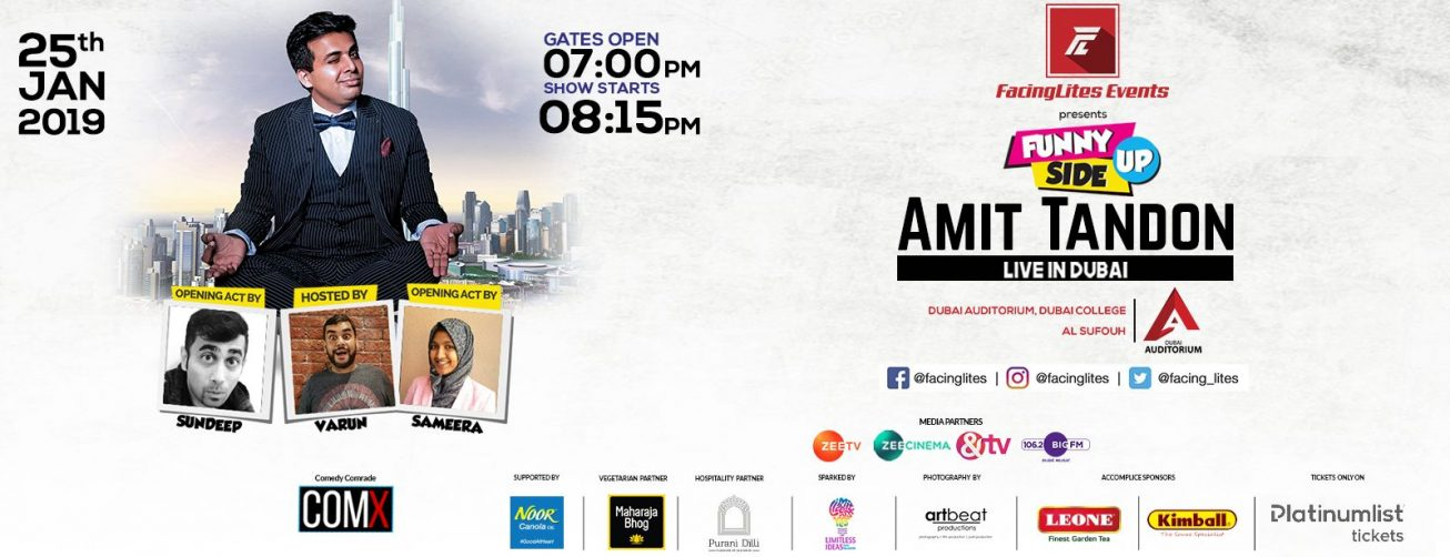 Amit Tandon Comedy Show - Coming Soon in UAE, comingsoon.ae